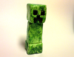 Creeper sssssculpture by xNIR0x