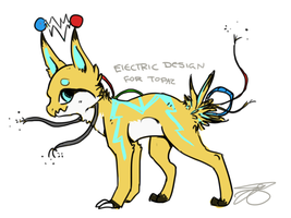 Electric Design - Contest Prize by Bowtiefoxin