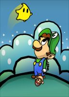Make a wish, luigi by L-E-M-O