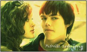 Skins: Michelle and Tony by LeanneHailer