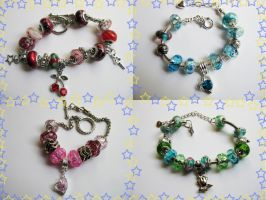 European bracelets for sale by Pameloo