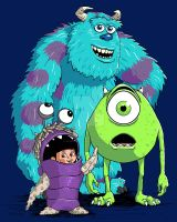 Monsters, Inc. by biomechanoid56
