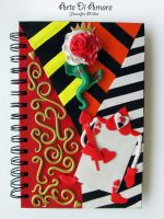 Queen of Hearts Journal by ArteDiAmore