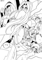 TFEnergon Girls get Naked by TheBoo