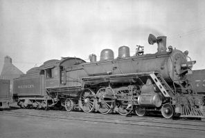 SOUTHERN RY. LOCOMOTIVE 1360 by uncledave