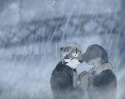 Doodle: Rain by Drake-TigerClaw