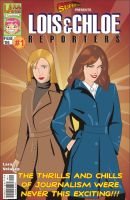 Lois and Chloe. Reporters by M-EX
