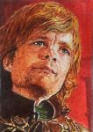 ACEO - Tyrion Lannister - watercolor by Giselle-M