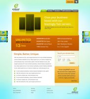 EINHOST Web design by captonjohn
