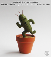 : cactuar : by BastardPrince