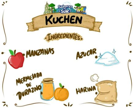 Ingredients to prepare a kuchen  by h2roses