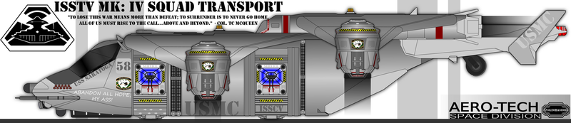 Space: Above and Beyond - ISSTV Squad Transport by Jon-Michael-May