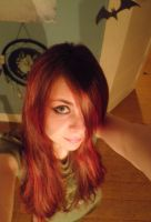 My New Red Hair by Cleopatrawolf