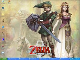 Zelda Twilight Princess Wp by ChibiRed
