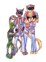 Cameron And the SWAT Kats by TigerChickTigriss