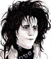 Edward Scissorhands by EllyWithAWhy