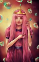 Princess Bubblegum by DZIU09