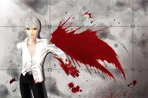 Bloody angel-fullcolor by Annemare