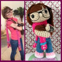 Custom Crochet - Kaley by CraftyTibbles