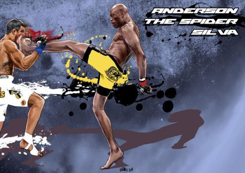 Anderson The Spider Silva Unleashed by Bardsville