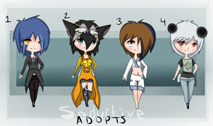 Mixed Adoptable Batch {OPEN} by SeductiveAdopts