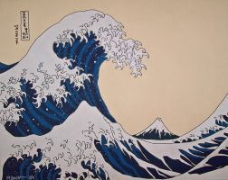 The Great Wave - Version 2.0 by andreatumpskin
