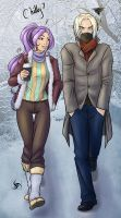 A stroll in the winter sun by ShadowKusatsu