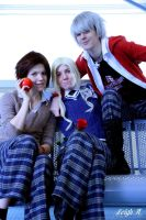 Bad Friends Trio by Ellyana-cosplay