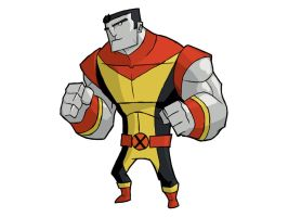 X-MEN: colossus by the-slift