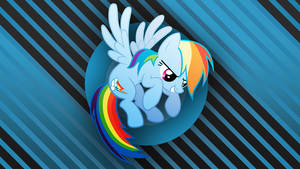 Rainbow Dash Wallpaper by SamuelDT99