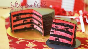 034 - Sultry Devil Cake by AbbyShue
