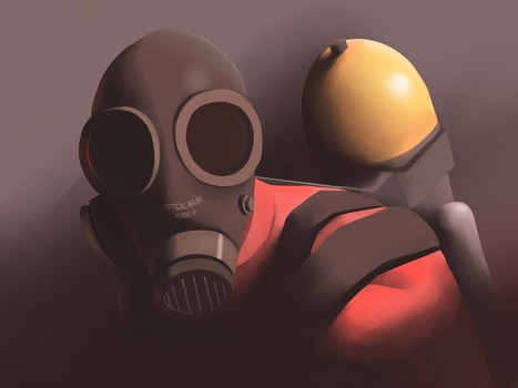 [Team Fortress 2] Pyro by fuwoops