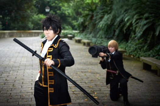 Gintama: Assassination Attempt No.xxx by cloverchakra