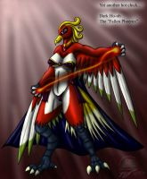 Dark Ho-oh gal by Snowfyre