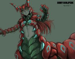 Scolipede Monster Girl by Reef1600
