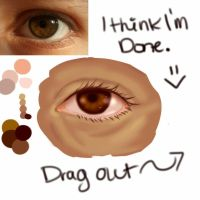 Eye Practice by TinkerPenDragon