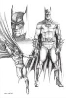 Batman Sketch by caiocacau