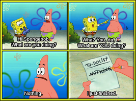 Spongebob Squarepants ~Funny Moment~ 1# by Yvesia