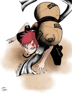 Gaara by ileveria