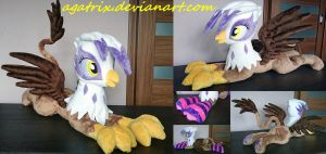 Gilda (laying down) plush by agatrix