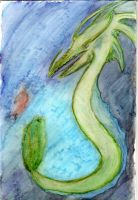 Water Dragon by Sonic-Spider