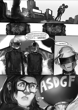 Skrillmau5 comic Chapter 3 FINAL by deathdetonation