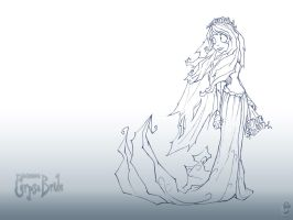The Corpse Bride Wallpaper V2 by HLBT