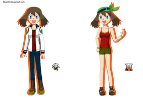 PKMN V - May Casuals by Blue90