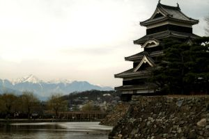 Matsumoto Castle by Animecowboy