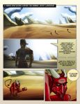 The Southern Branch Web-Comic Page 1 by BrainTreeStudios