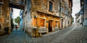 Streets of Groznjan by RafalBigda
