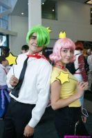Cosmo and Wanda at Anime Expo by WendySonali