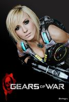 JESSICA NIGRI GEARS  OF WAR by DANZDIGITAL
