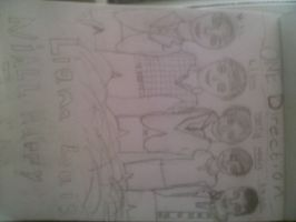 my onedirection drawing by KittykatMeow01